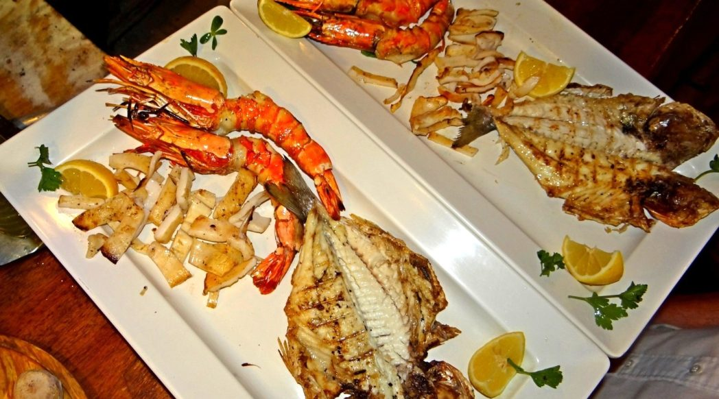 Manos fish restaurant - frito misto